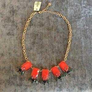Talbots Bead Drop Necklace NWT